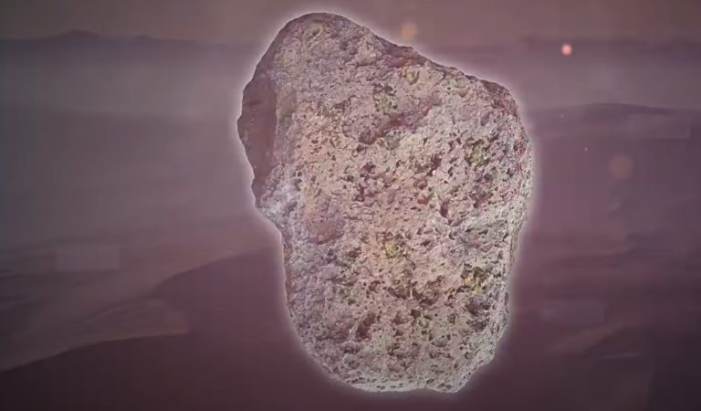 How Rock from Another Planet Ended Up in Sahara Desert